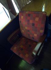 パノラマシート座席
